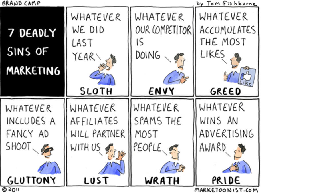 The Eighth Deadly Sin of Marketing