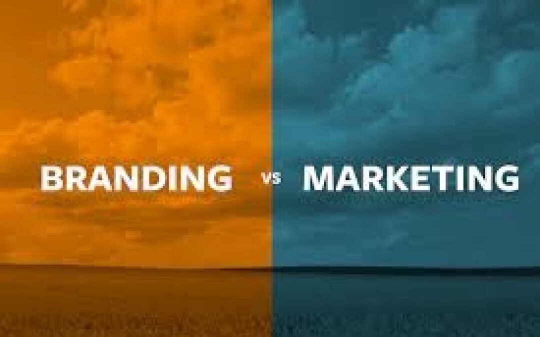 What's the difference between brand and marketing?