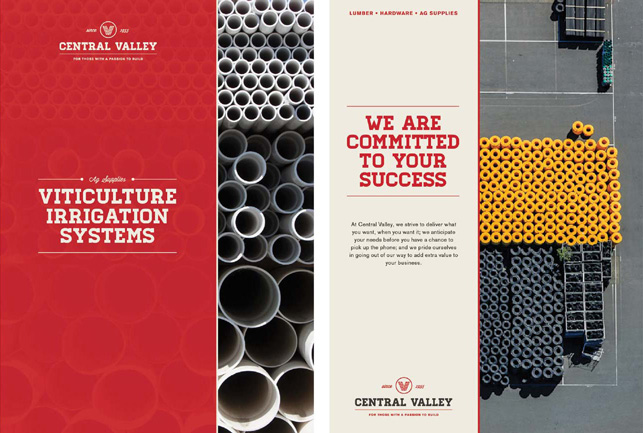 Central Valley branded materials