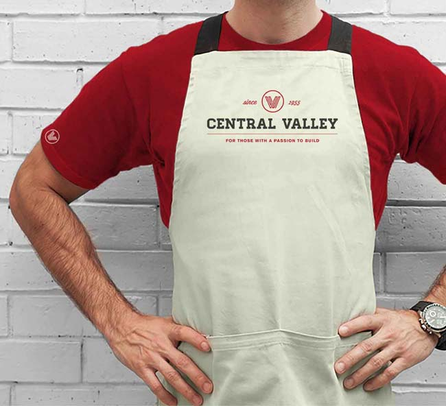 Central Valley branded uniform