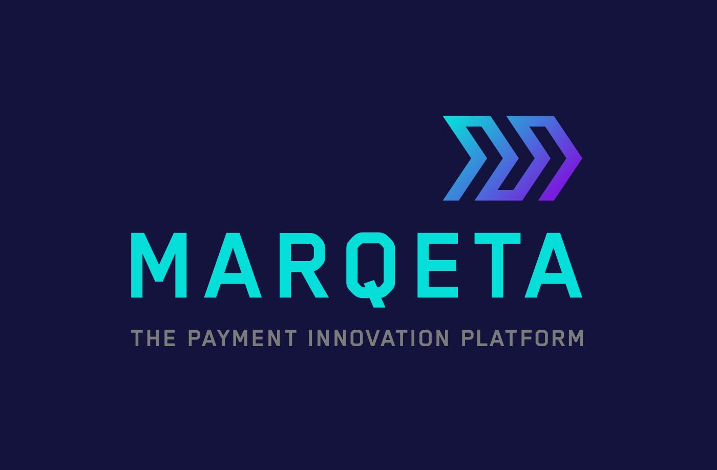 Startup branding for FinTech brand Marqeta