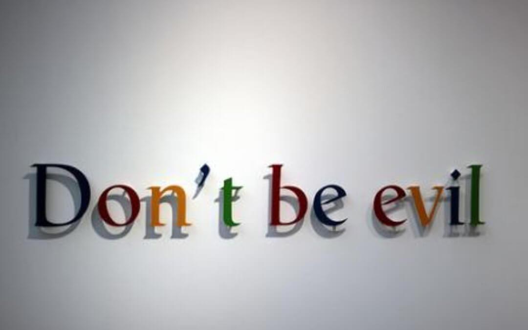 google corporate values