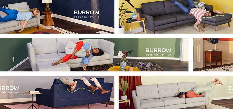 Challenger Brands Design that Disrupts Burrow